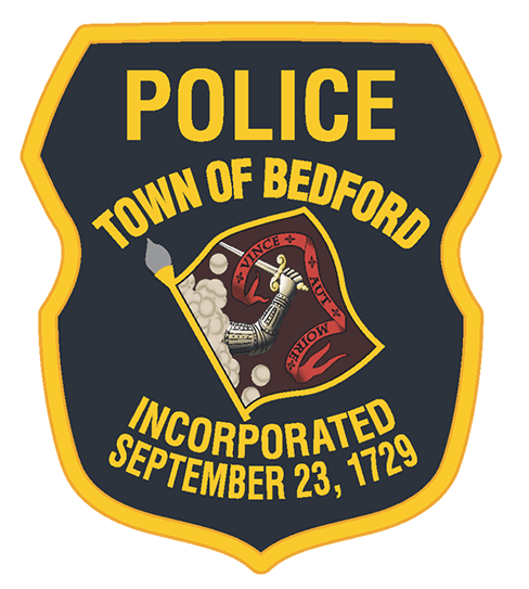 Bedford Police Department New 2018 Patch